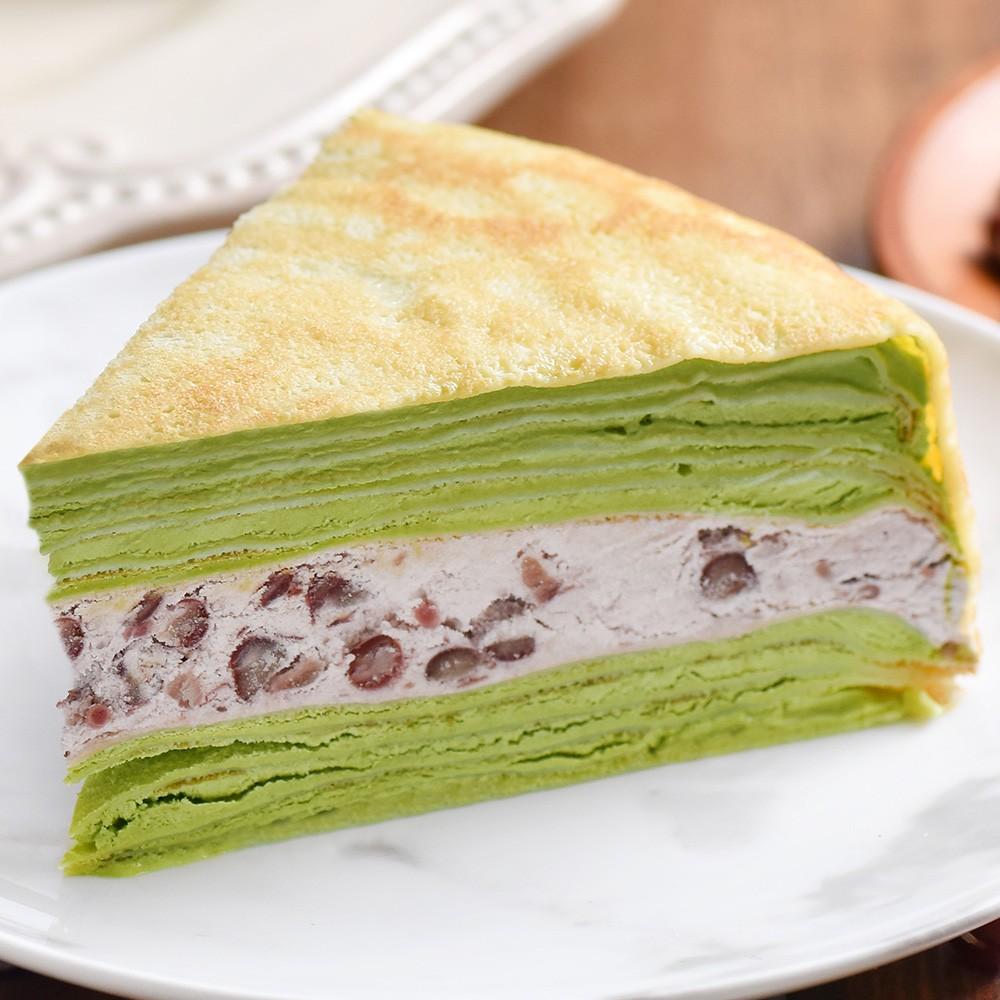 【塔吉特】抹茶紅豆千層(8吋)